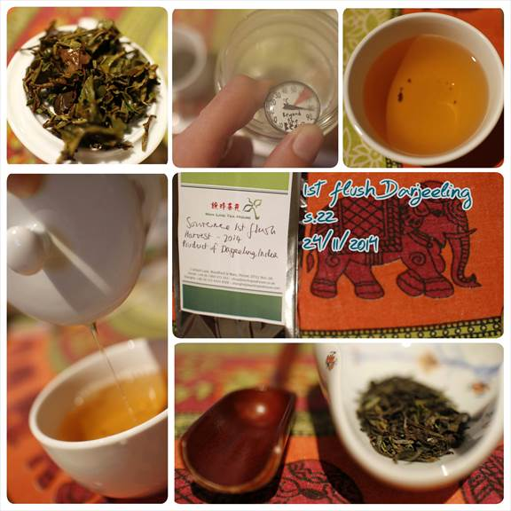 Single estate, Darjeeling tea tasting notes.