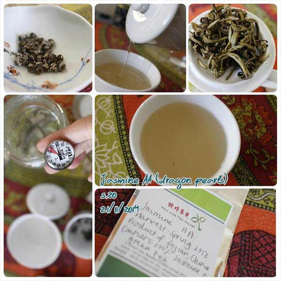 Jasmine Green Tea Tasting Notes. Learn from other tea lovers about key terms and phases for describing different quality loose leaf teas.