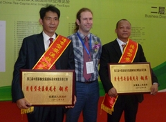 James with TieGuanYin Bronze Winners
