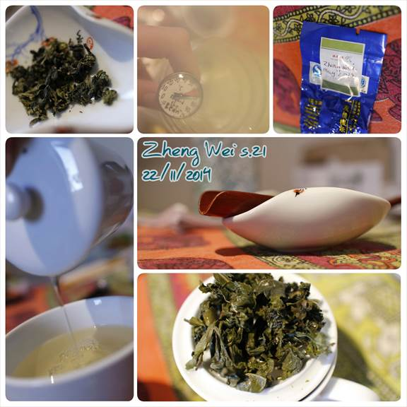 Zheng Wei Tie Quan Yin. Chinese tea tasting notes.
