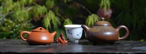 Collection of Yixing teapots in the UK