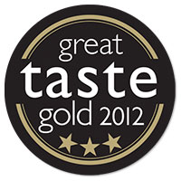 Great Taste Awards - Gold 3 Star 2012