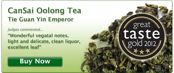 Buy the best Guan Yin Wang, Tie Guan Yin King Oolong tea. UK Great Taste Award winning Tie Guan Yin. 3 star award winning Oolong tea.