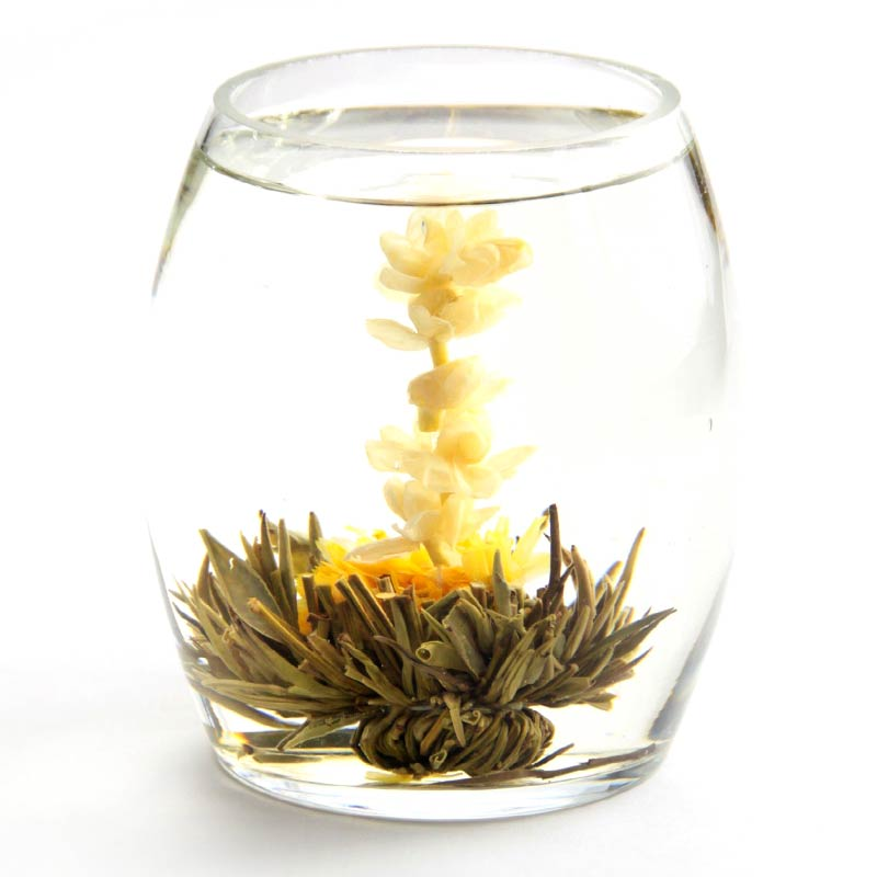 Use A Glass Vessel When You Drink Blooming Teas So You Can