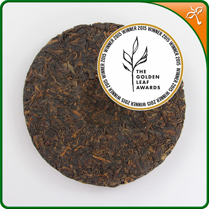 Australian Tea Expo award winning tea - Ancient Tea tree shu puer tea
